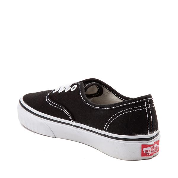 alternate view Vans Authentic Skate Shoe - Little Kid - BlackALT1