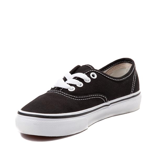 alternate view Vans Authentic Skate Shoe - Little Kid - BlackALT2