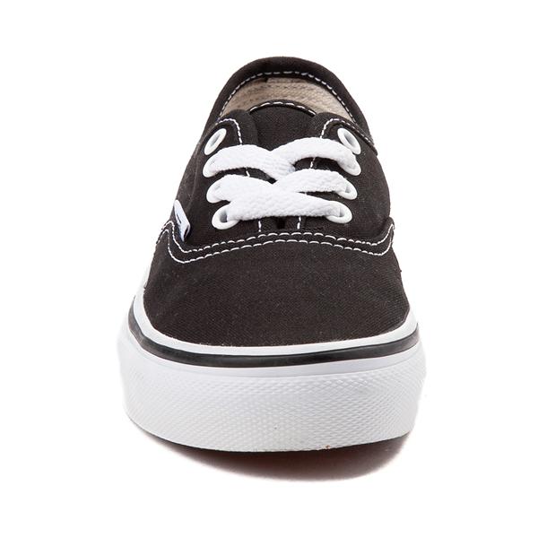 alternate view Vans Authentic Skate Shoe - Little Kid - BlackALT4