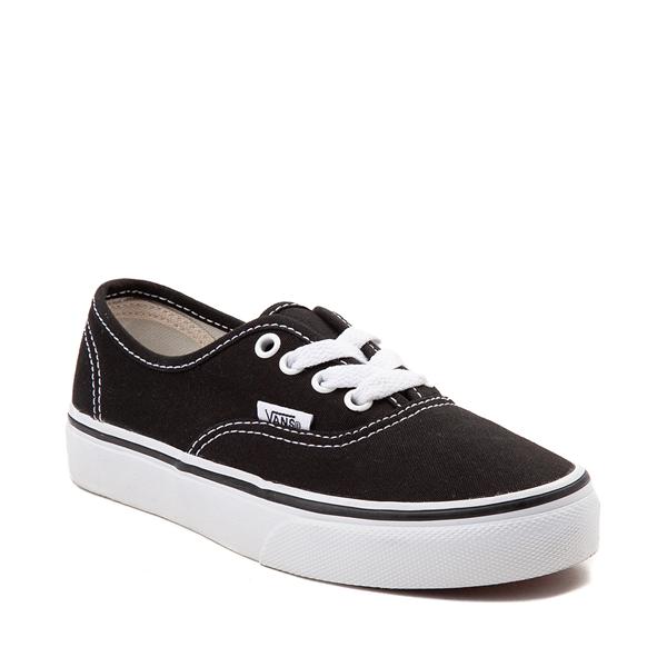 alternate view Vans Authentic Skate Shoe - Little Kid - BlackALT5