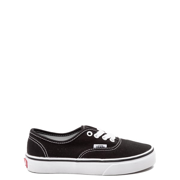 Default view of Vans Authentic Skate Shoe - Little Kid - Black