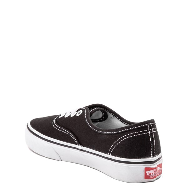 alternate view Vans Authentic Skate Shoe - Little Kid - BlackALT2