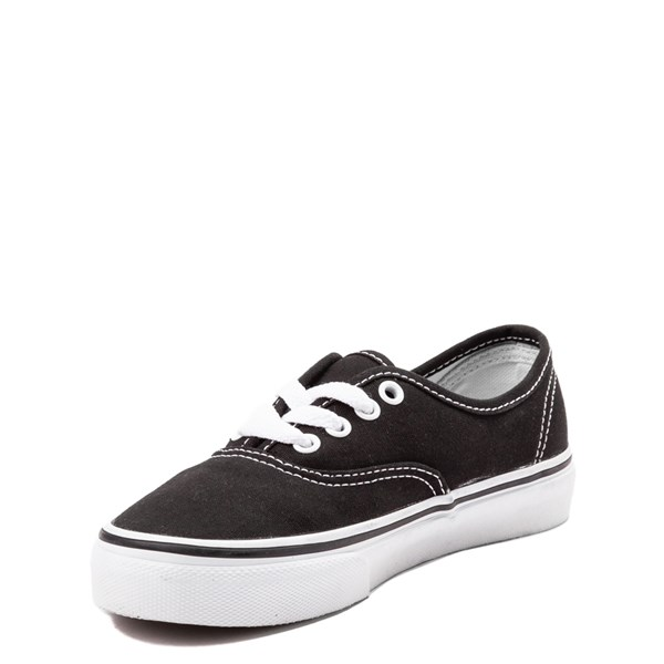alternate view Vans Authentic Skate Shoe - Little Kid - BlackALT3