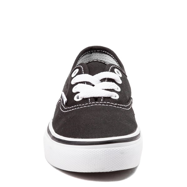 alternate view Vans Authentic Skate Shoe - Little Kid - BlackALT4