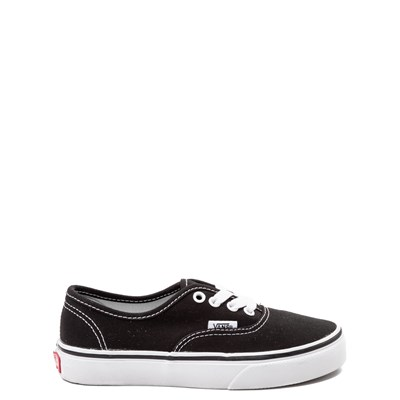 Main view of Vans Authentic Skate Shoe - Little Kid - Black