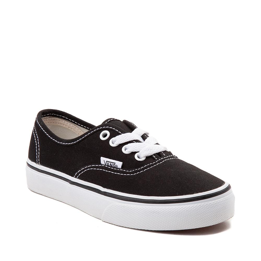 Vans Authentic Skate Shoe - Little Kid - Black   Journeys