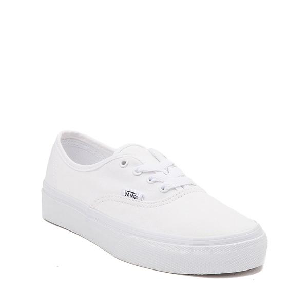 alternate view Vans Authentic Skate Shoe - Little Kid - WhiteALT5