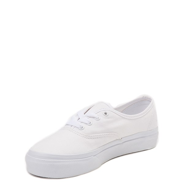 alternate view Vans Authentic Skate Shoe - Little Kid - WhiteALT3