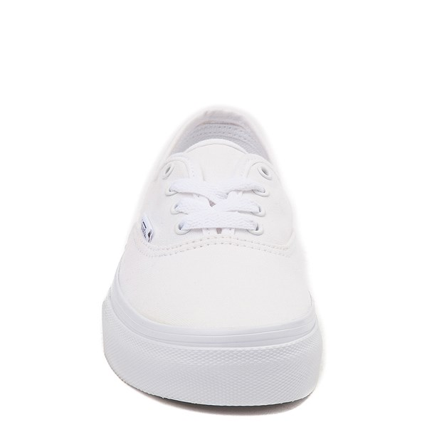 alternate view Vans Authentic Skate Shoe - Little Kid - WhiteALT4