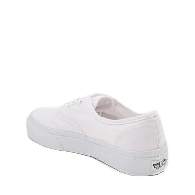 Alternate view of Vans Authentic Skate Shoe - Little Kid - White