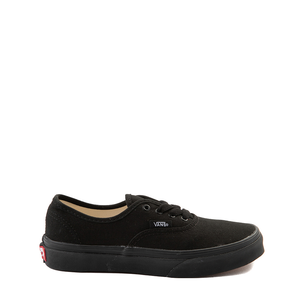 Vans Authentic Skate Shoe - Little Kid - Black Monochrome