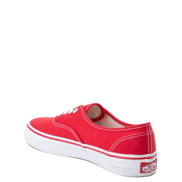alternate view Vans Authentic Skate Shoe - Little Kid / Big Kid - RedALT1