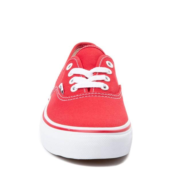 alternate view Vans Authentic Skate Shoe - Little Kid / Big Kid - RedALT4