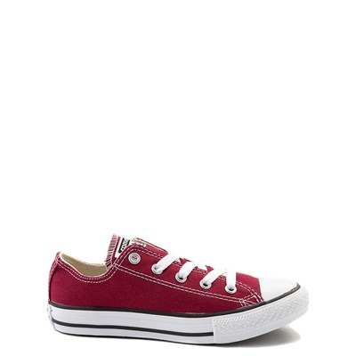 Main view of Youth Maroon Converse Chuck Taylor All Star Lo Sneaker