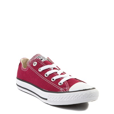 Alternate view of Youth Maroon Converse Chuck Taylor All Star Lo Sneaker