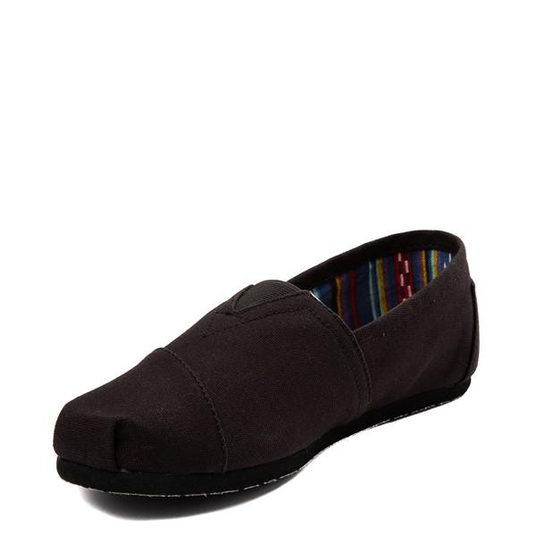 alternate view Mens TOMS Classic Slip On Casual Shoe - Black MonochromeALT2
