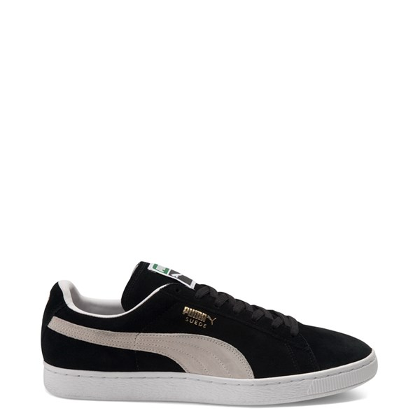 Mens Puma Suede Athletic Shoe - Black / White