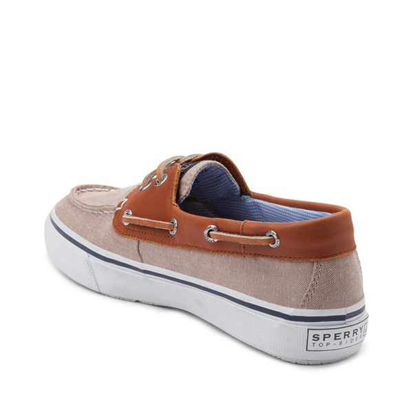 alternate view Mens Sperry Top-Sider Bahama Casual Shoe - Tan / ChambrayALT1