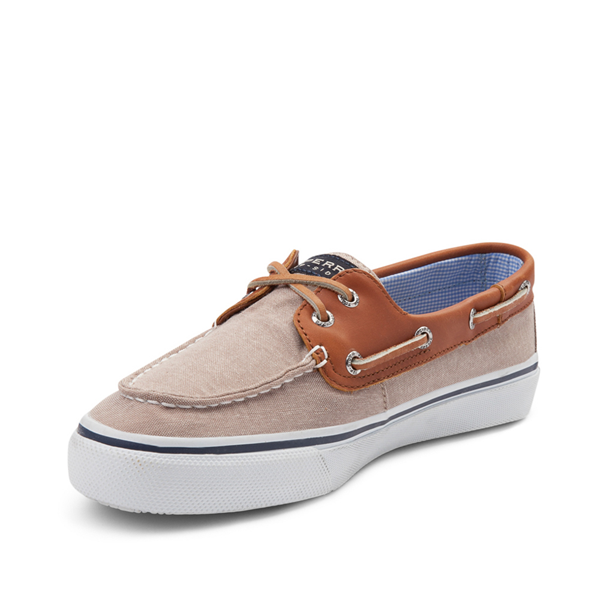 alternate view Mens Sperry Top-Sider Bahama Casual Shoe - Tan / ChambrayALT2