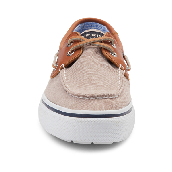 alternate view Mens Sperry Top-Sider Bahama Casual Shoe - Tan / ChambrayALT4