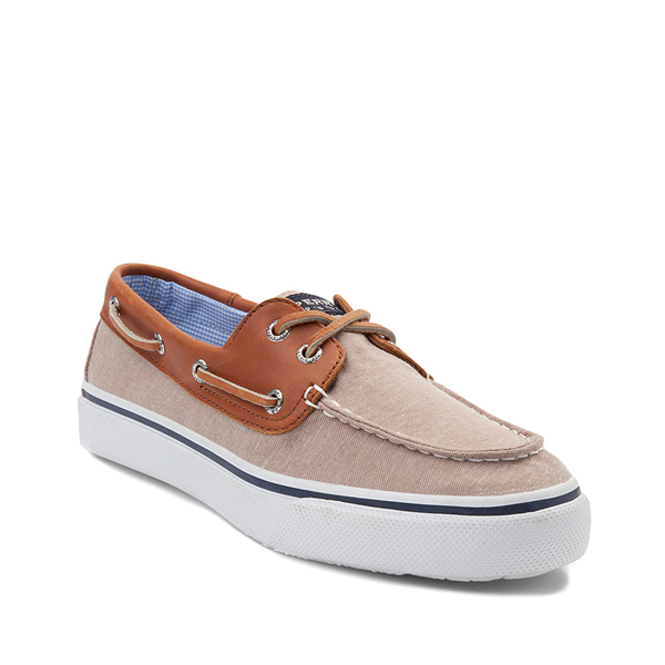 alternate view Mens Sperry Top-Sider Bahama Casual Shoe - Tan / ChambrayALT5