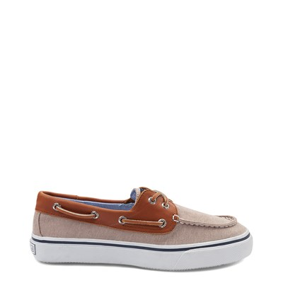 Main view of Mens Sperry Top-Sider Bahama Casual Shoe - Tan / Chambray