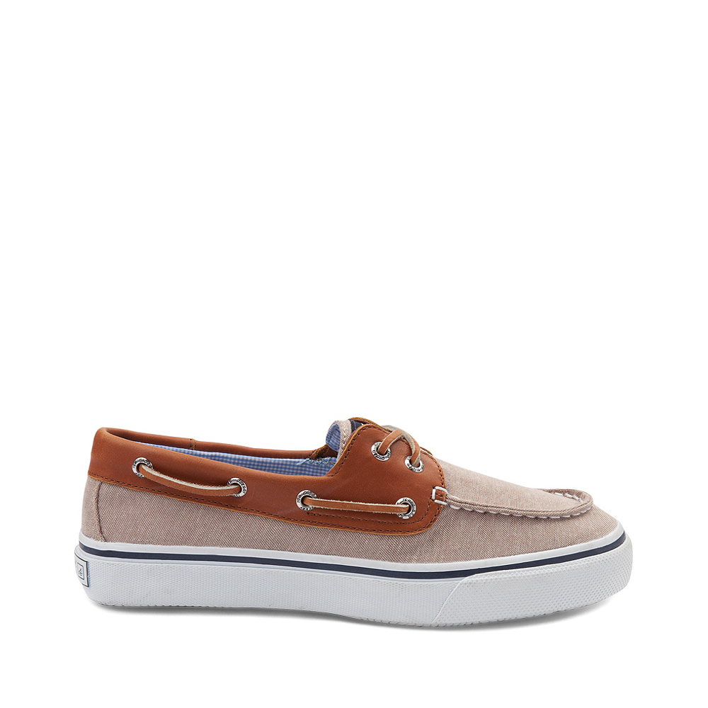 Mens Sperry Top-Sider Bahama Casual Shoe - Tan / Chambray