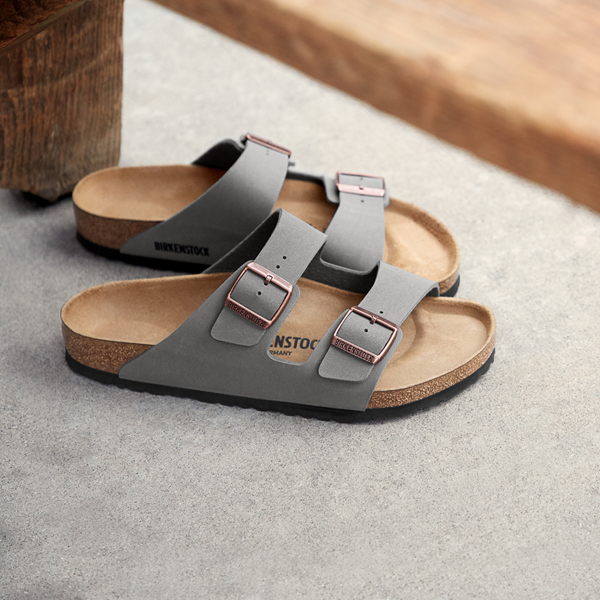 alternate view Womens Birkenstock Arizona Sandal - StoneALT1B