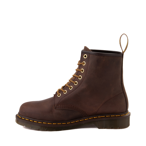alternate view Dr. Martens 1460 8-Eye Aztec Crazy Horse Boot - BrownALT1