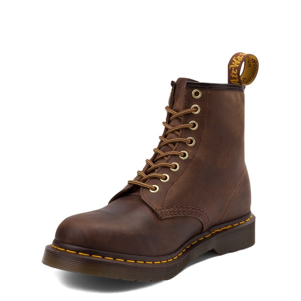 alternate view Dr. Martens 1460 8-Eye Aztec Crazy Horse BootALT3