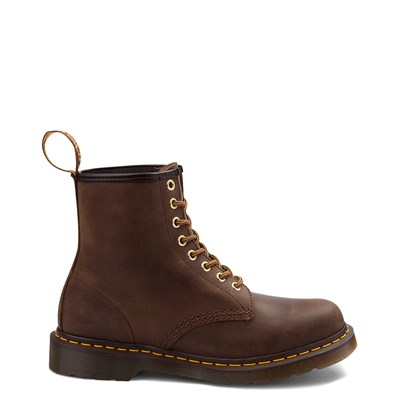 Main view of Dr. Martens 1460 8-Eye Aztec Crazy Horse Boot - Brown