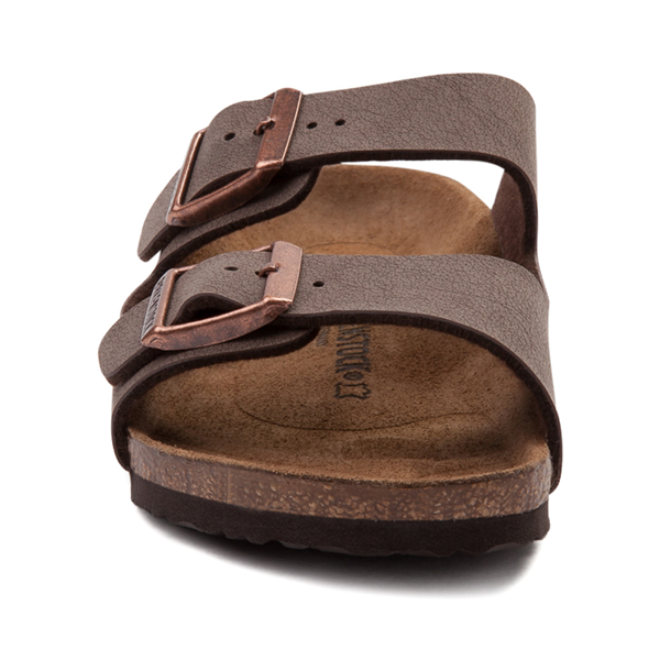 alternate view Birkenstock Arizona Sandal - Little Kid - MochaALT4