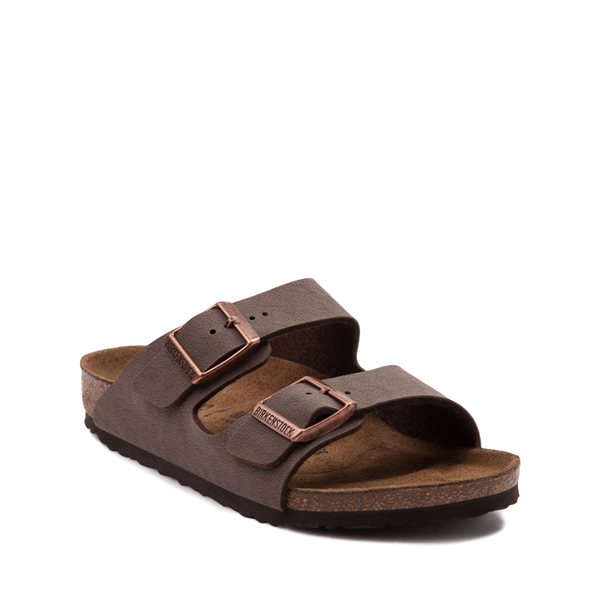 alternate view Birkenstock Arizona Sandal - Little Kid - MochaALT5