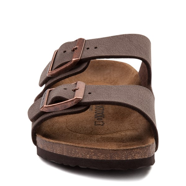 alternate view Birkenstock Arizona Sandal - Little Kid - Light BrownALT4