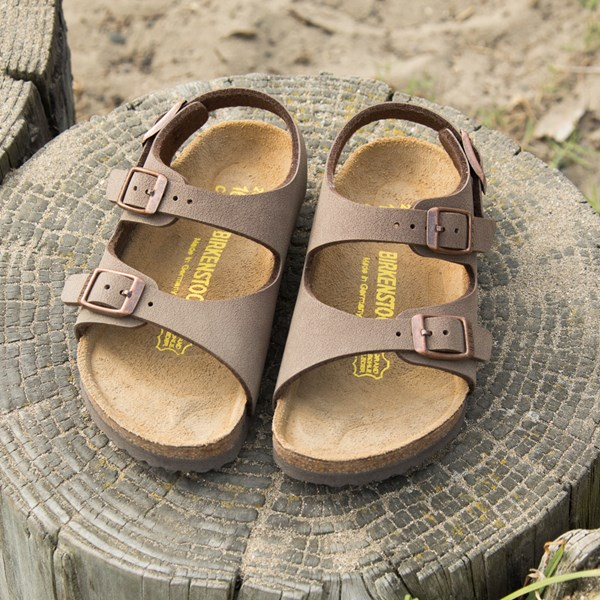 alternate view Birkenstock Arizona Sandal - Little Kid - Light BrownALT6