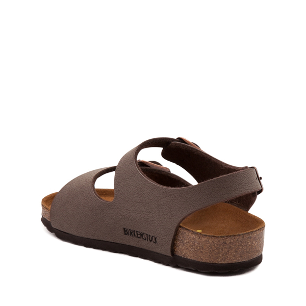 alternate view Birkenstock Roma Sandal - Toddler / Little Kid - MochaALT1