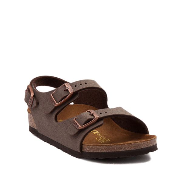 alternate view Birkenstock Roma Sandal - Toddler / Little Kid - MochaALT5