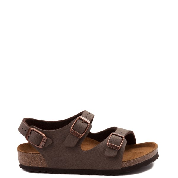 Main view of Birkenstock Roma Sandal - Toddler / Little Kid - Mocha