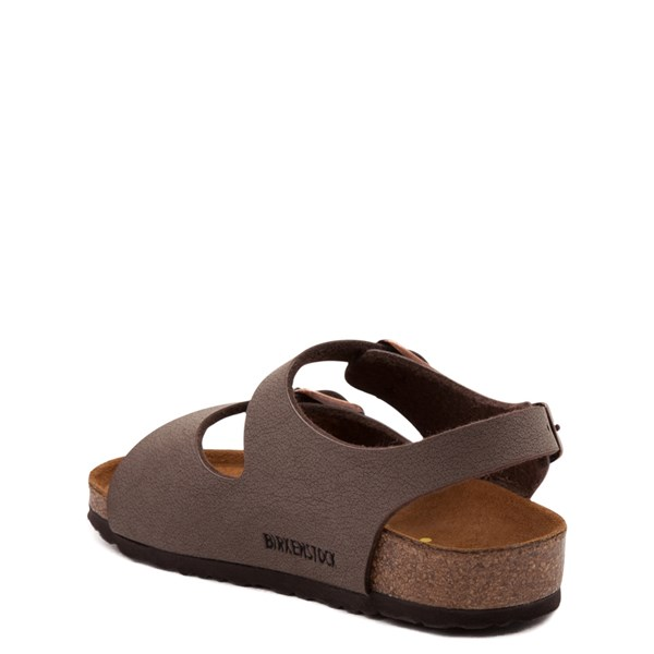 alternate view Birkenstock Roma Sandal - Toddler / Little Kid - MochaALT2