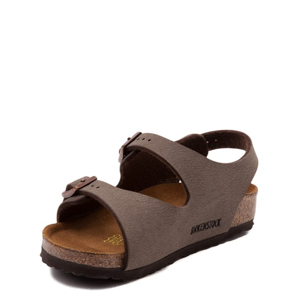 alternate view Birkenstock Roma Sandal - Toddler / Little Kid - MochaALT3