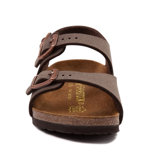 alternate view Birkenstock Roma Sandal - Toddler / Little Kid - MochaALT4
