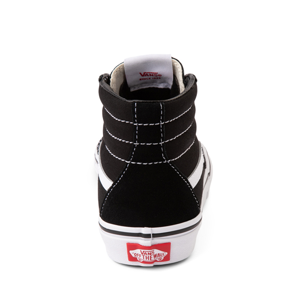 alternate view Vans Sk8 Hi Skate Shoe - Little Kid / Big Kid - BlackALT4
