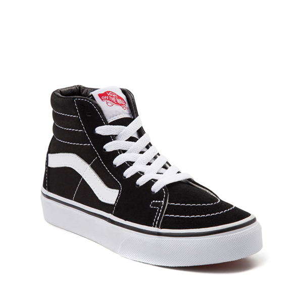 alternate view Vans Sk8 Hi Skate Shoe - Little Kid / Big Kid - BlackALT5