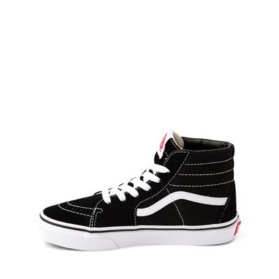 Alternate view of Vans Sk8 Hi Skate Shoe - Little Kid / Big Kid - Black