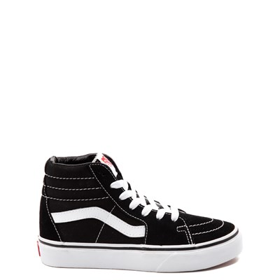 Main view of Vans Sk8 Hi Skate Shoe - Little Kid - Black