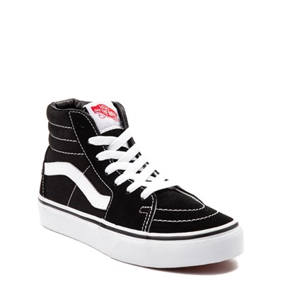 Alternate view of Vans Sk8 Hi Skate Shoe - Little Kid - Black