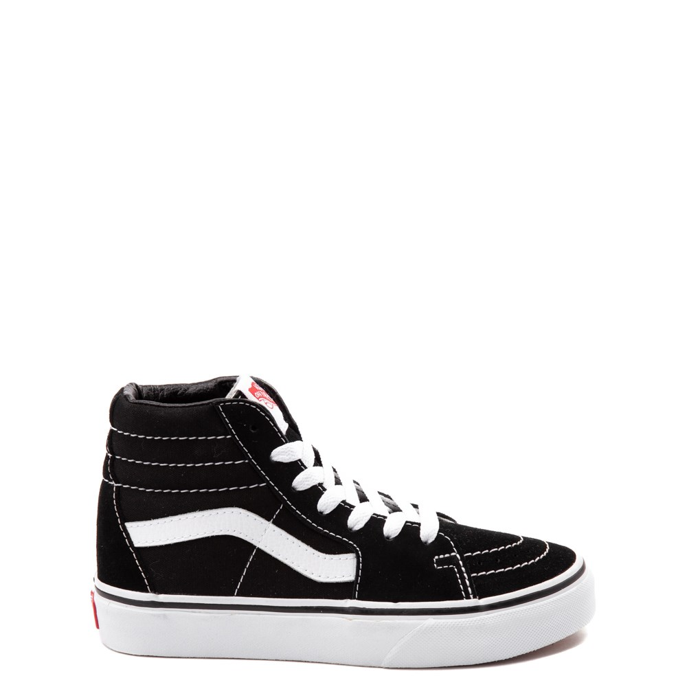 Vans Sk8 Hi Skate Shoe - Little Kid / Big Kid - Black