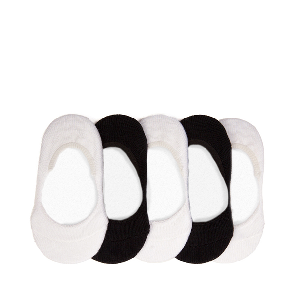 Main view of Casual Liners 5 Pack - Baby - Black / White