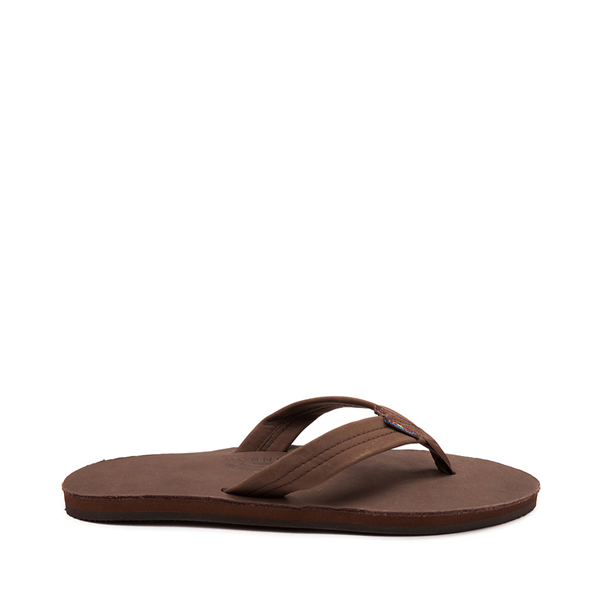 Mens Rainbow 301 Leather Sandal - Expresso