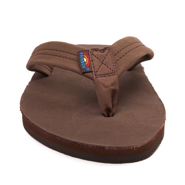 alternate view Mens Rainbow 301 Leather Sandal - ExpressoALT4